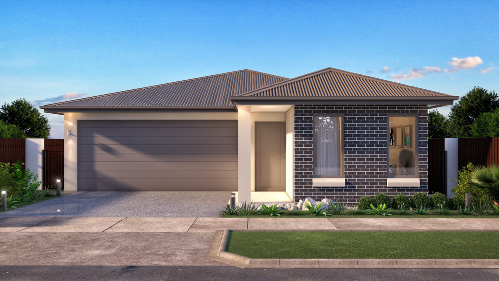 The Monterey - 4 Bed | 2 Bath | 2 Car Garage12.5m Traditional Lots