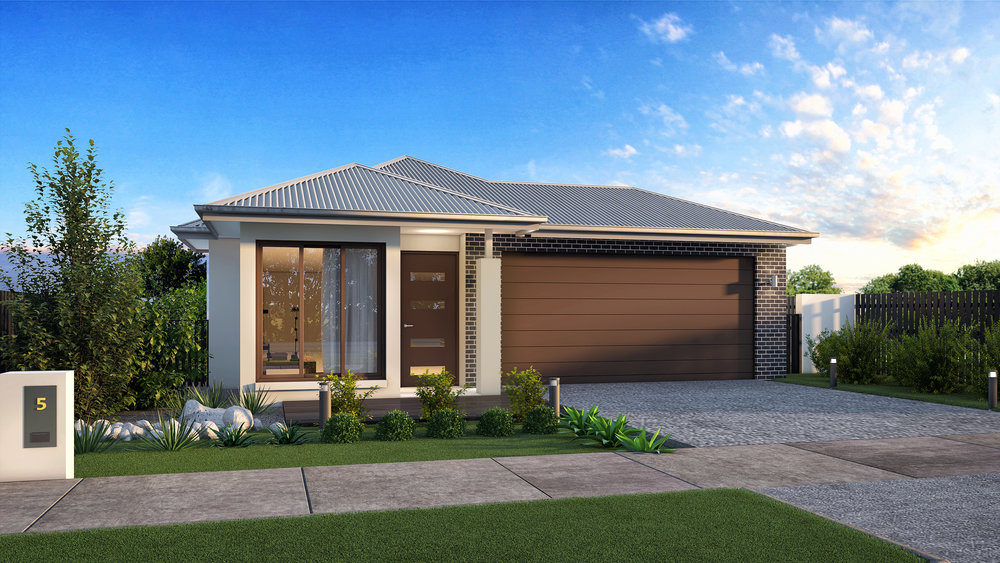 The Iron Cove - 4 Bed | 2 Bath | 2 Car Garage12.5m Traditional Lots