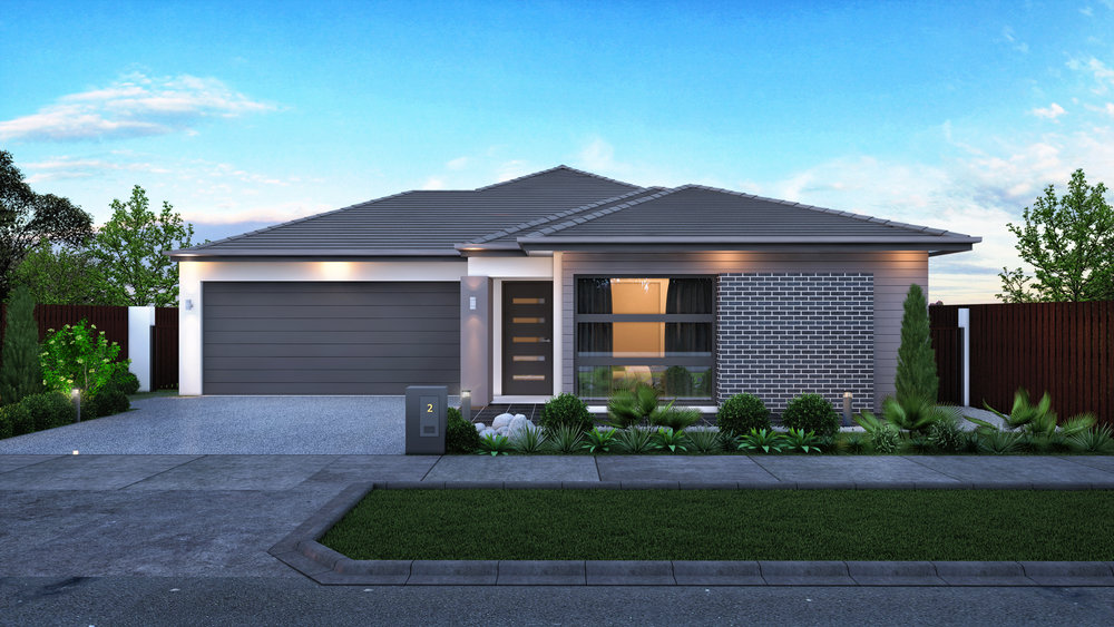 The Solana - 4 Bed | 2 Bath | 2 Car Garage15m Traditional Lots