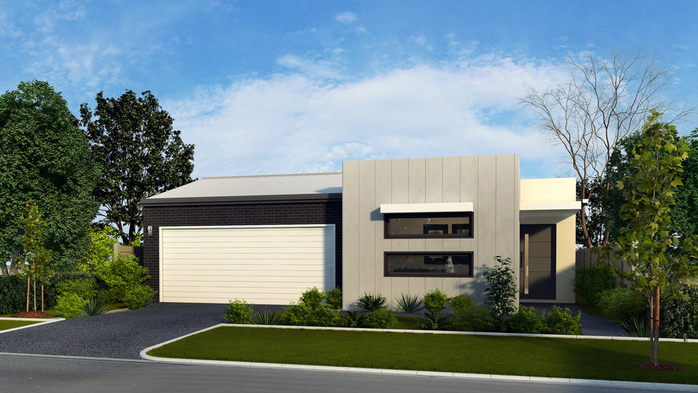The Monarch - 4 Bed | 2 Bath | 2 Car Garage12.5m Traditional Lots
