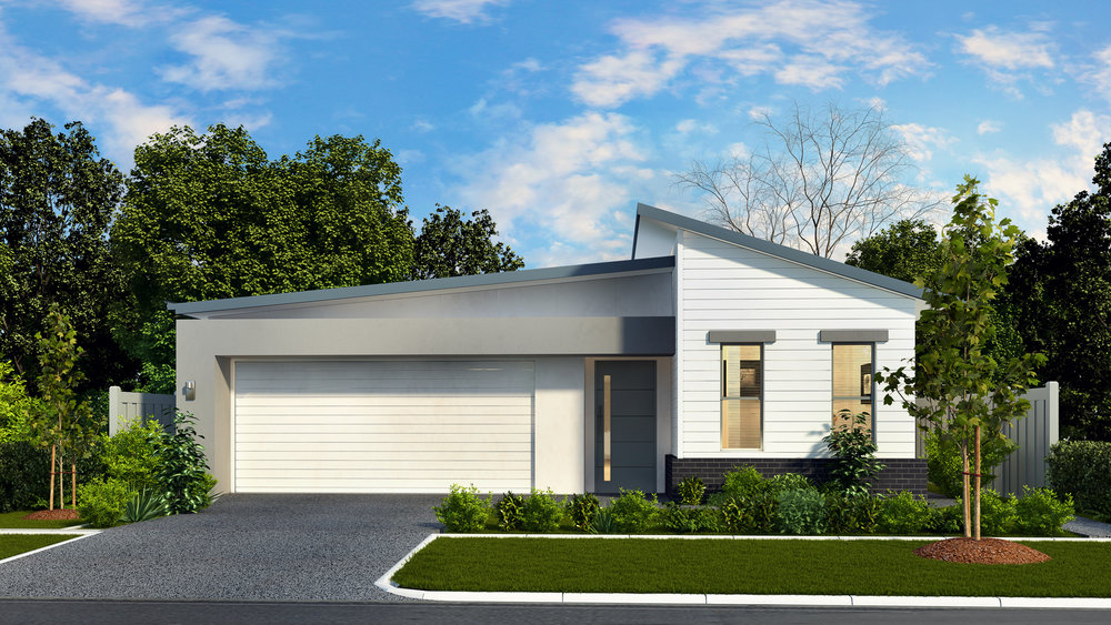 The Hideaway - 4 Bed | 2 Bath | 2 Car Garage11.5m Traditional Lots