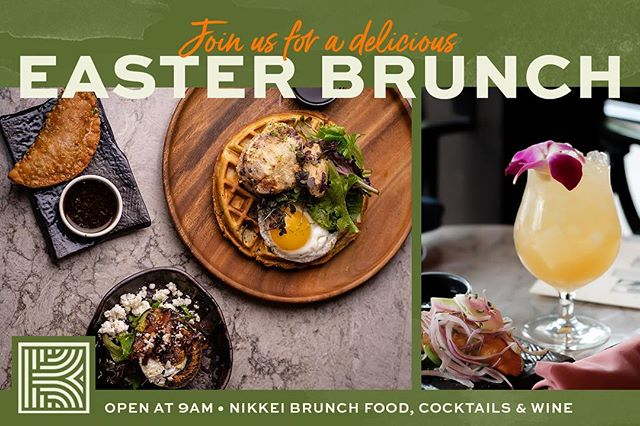 Don't forget! Easter Brunch is this Sunday! We have what you're looking for; a delicious prix fixe menu, tasty craft cocktails, and a patio. Doors open at 9am. #kaiyobrunch #nikkei #easterbrunch #easter #eastersunday  #sfbrunch #f52grams #foodiesofinstagram #brunch #sfchronicle #sfweekly #feast #eeeeeats #peruviannikkei #cocktails #foodporn #foodie #sanfrancisco #sffoodie #kaiyosf #breakfast #brunchgamestrong #foodpornography #yumm #yumyum