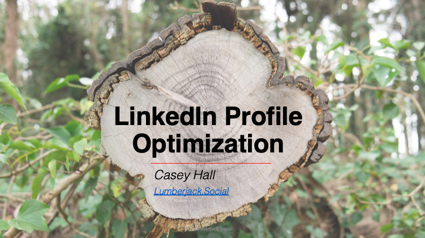 LinkedIn Profile Optimization cover image
