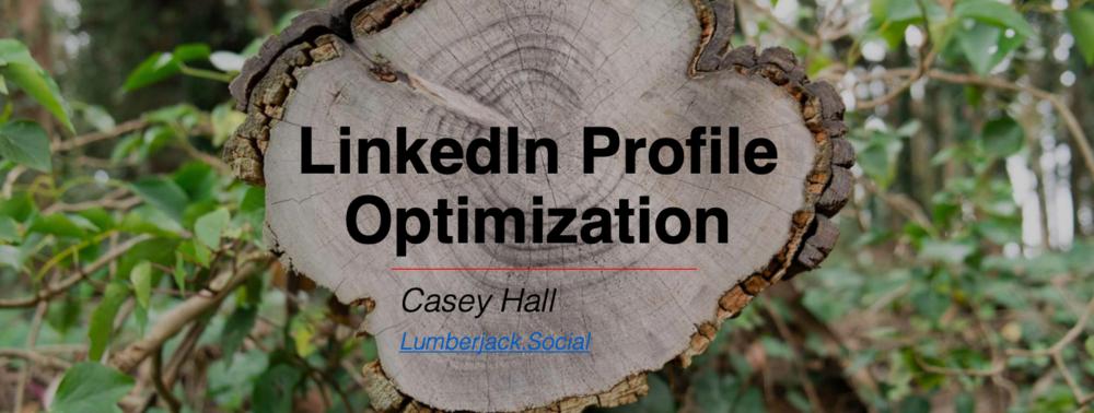 LinkedIn Profile Optimization Guide