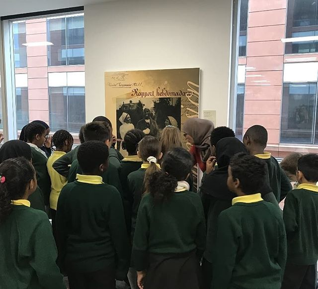 We want to send a big thank you to Flora Gardens Primary School for sending their year 5 & 6 classes to our exhibtion.