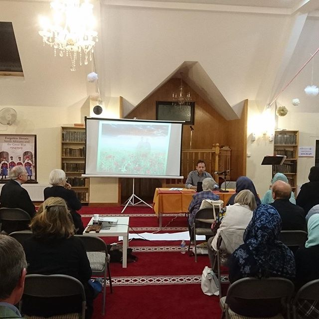 Th wonderful initiative of the Dar ul-isra mosque and Muslim Council of Britain to organise an event about the Muslim and Somali contributions in WW1, was a major success. @muslimcouncil.uk #diversity #ww1 #somali #togetherstronger #ww1centenary #interfaith