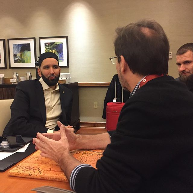 Excited about our discussion with @imamomarsuleiman from @yaqeeninstitute. Preserving our shared history and the sacrifices of Muslims is key. #historyfacts #togetherness #ww1 #ww1centenary #interfaith #arthistory #historicalart