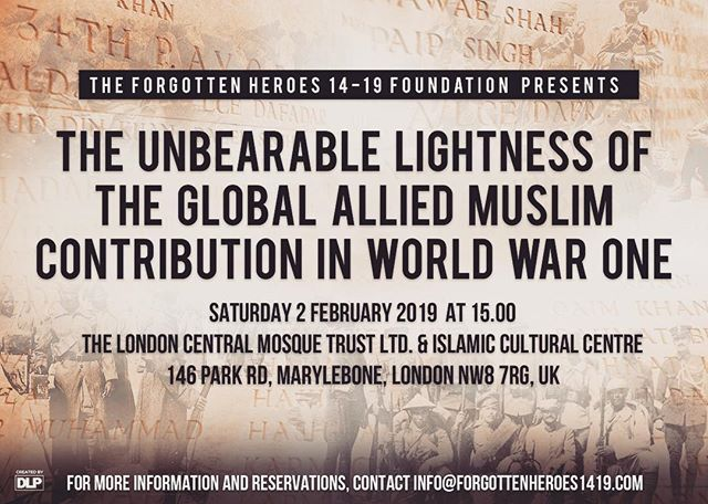 We will be at @iccukorg this Saturday, February 2nd, at 3pm giving a talk about the global Muslim contribution in #ww1  Please attend! #ww1history #interfaith #sharedhistory #ww1centenary #charity #zakat #londoncentralmosque