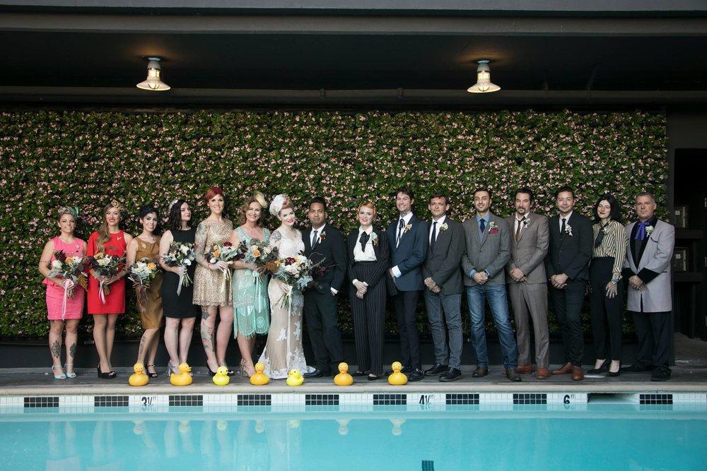 Bridal Party- Photo by Melinda Sanders