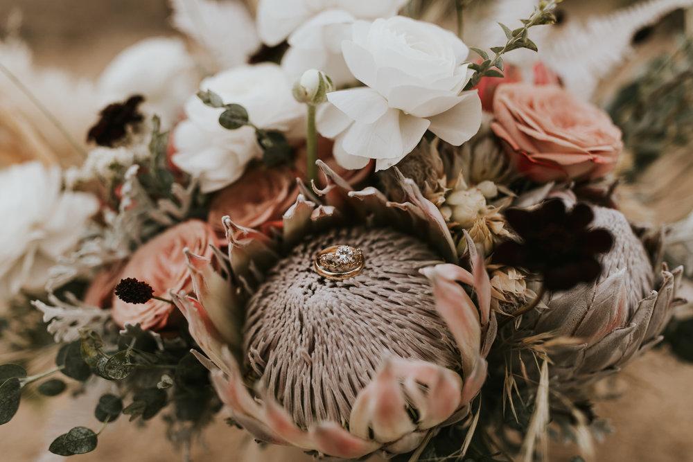 Bouquet Detail- Photo by Wild Heart Visuals (Nicole Little)