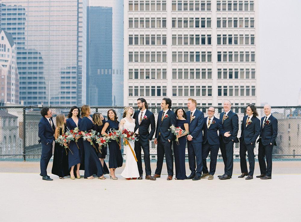 Stephanie & Leo's Wedding Party- Photo by Sposto Photo