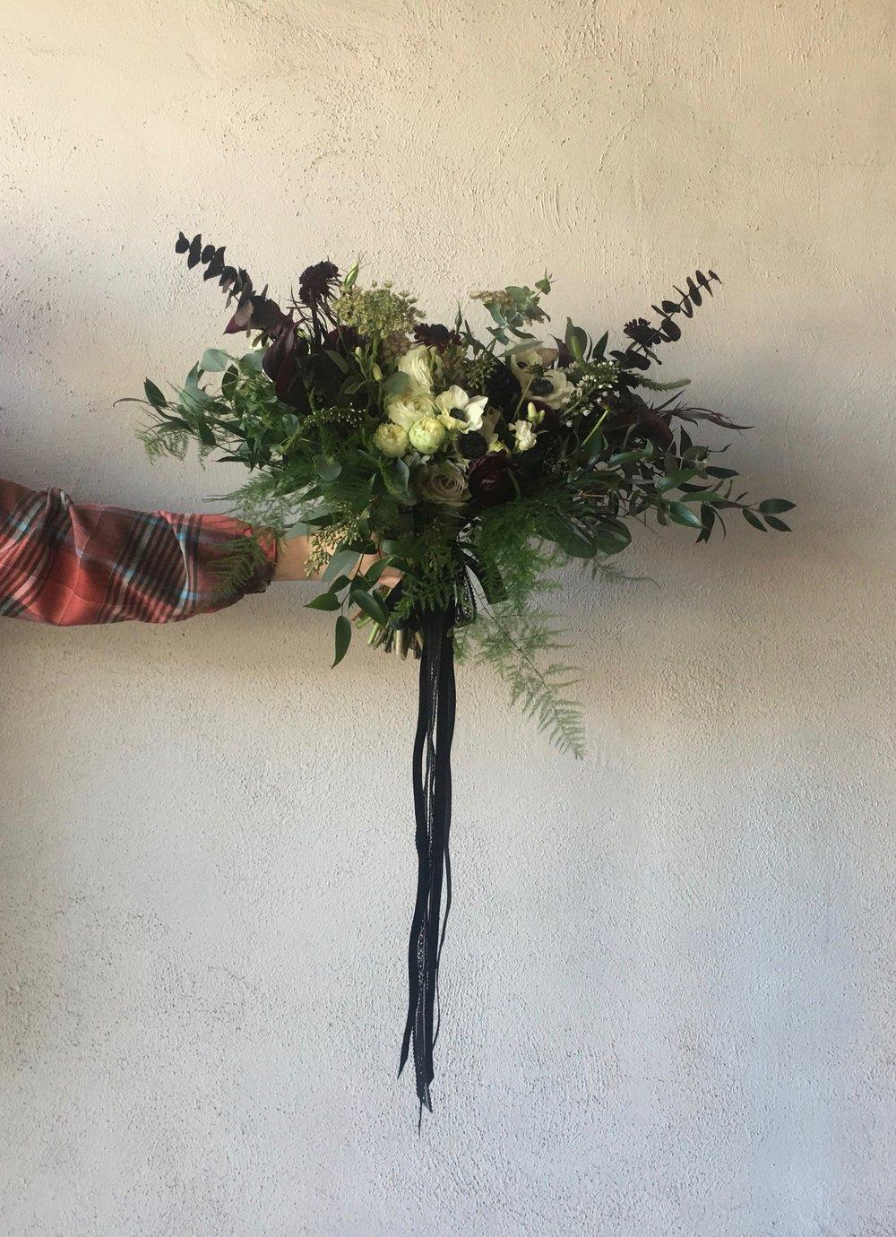 December Wedding Bouquet