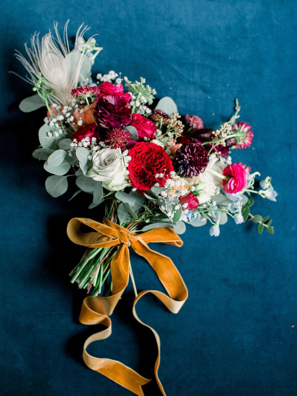 November Wedding Bouquet- Photo by Sposto Photo