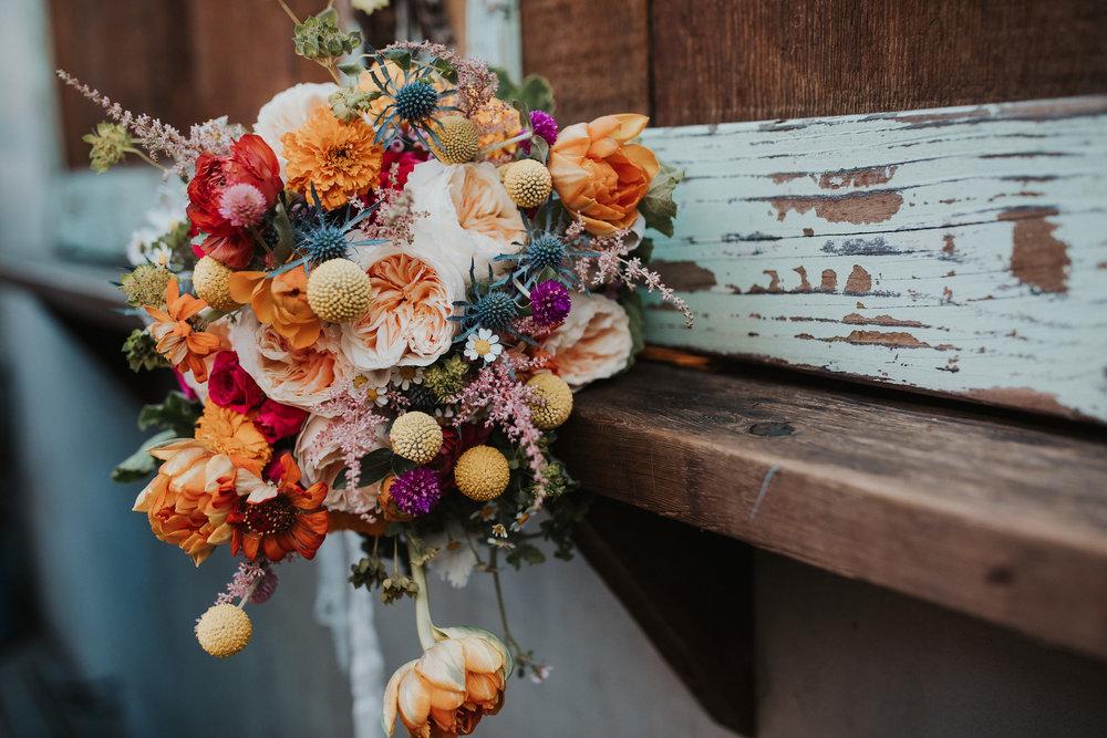Erica's November Wedding Bouquet- Photo by Ariele Chapman