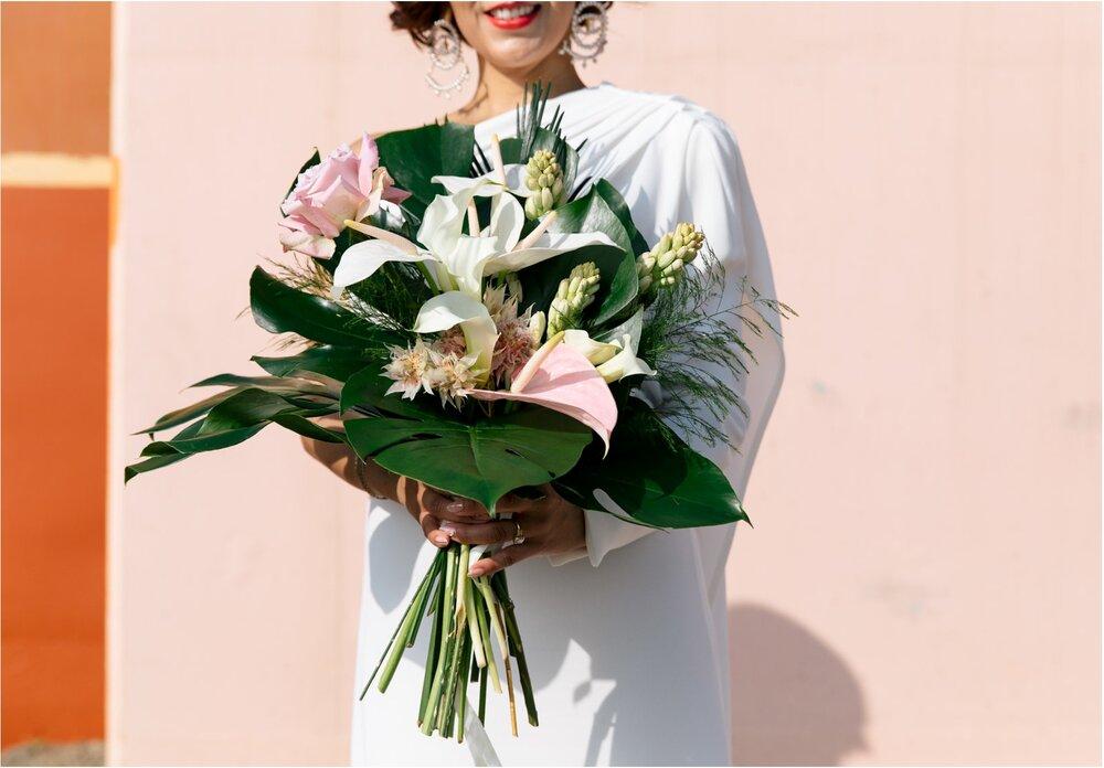Adriana's bouquet- Photo: Jenn Emerling