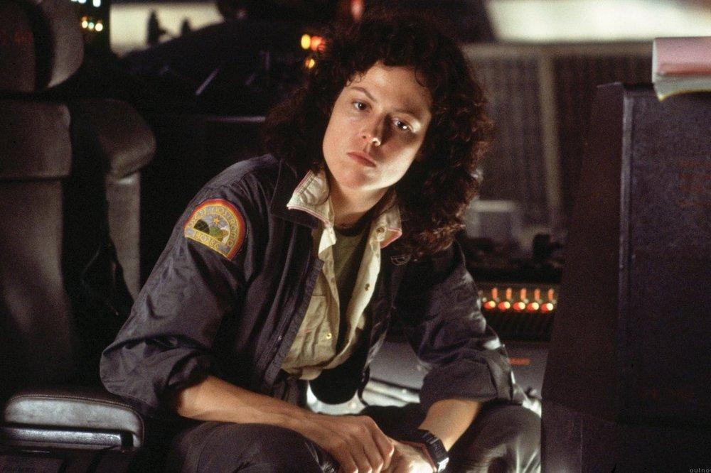 """Sigourney Weaver i """"Alien"""""""