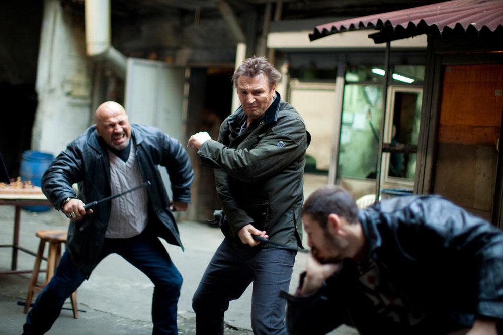 Honorable östeuropé-mention: Samtliga skurkar som Liam Neeson karatesparkar sig igenom i   Taken   (2008)