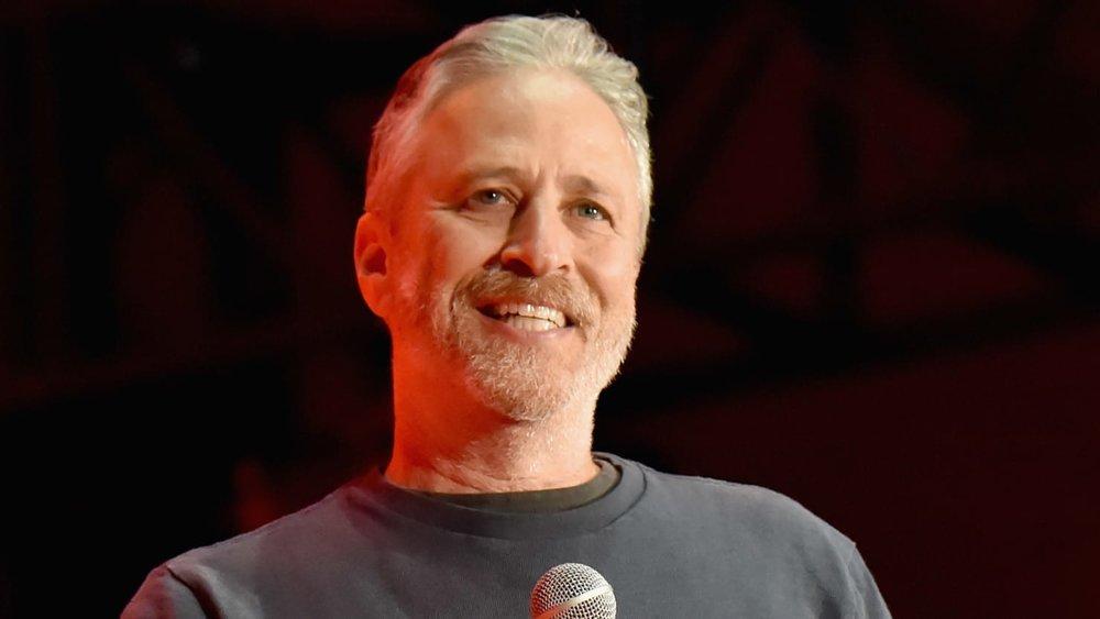 Old ass Jon Stewart