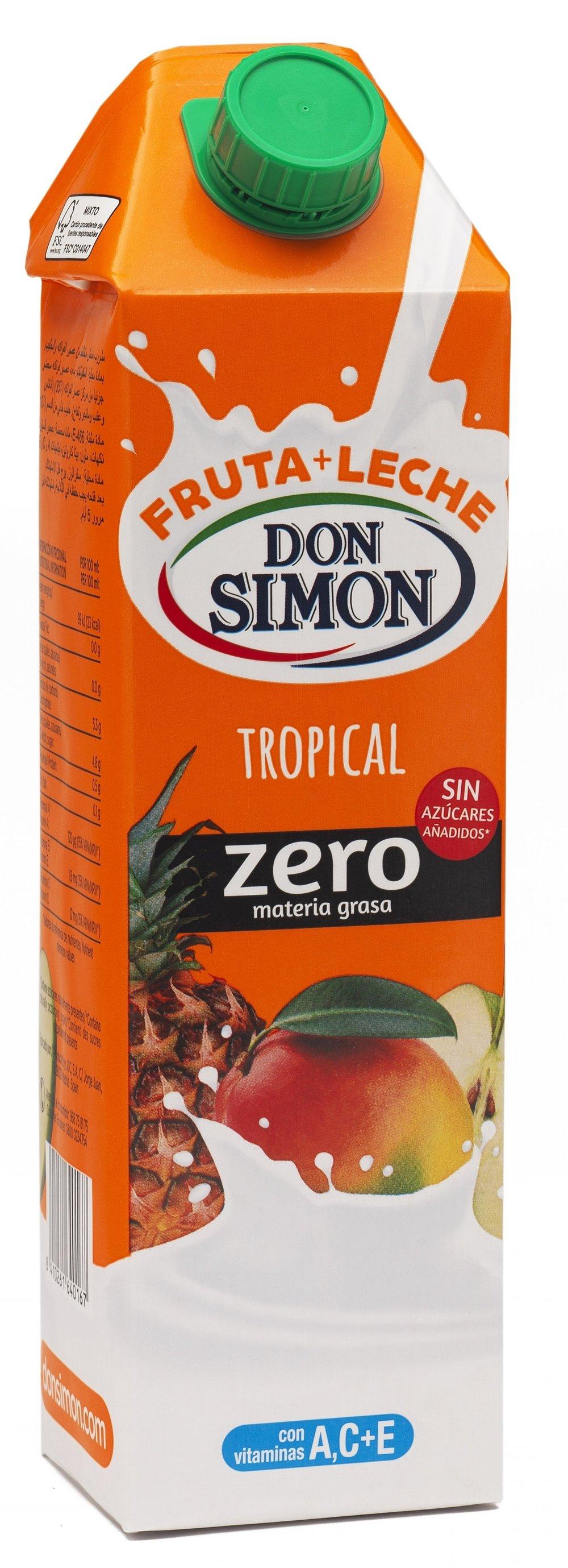 Fruta-leche tropical