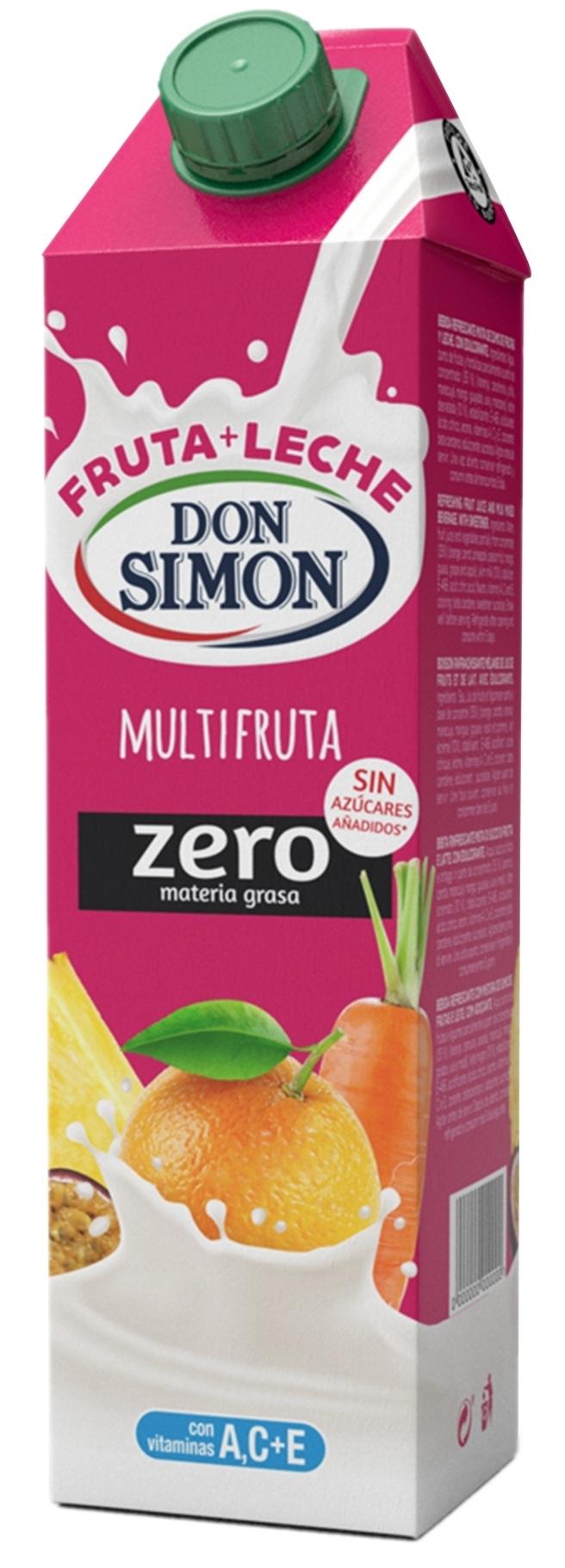 Fruta-leche multifruta