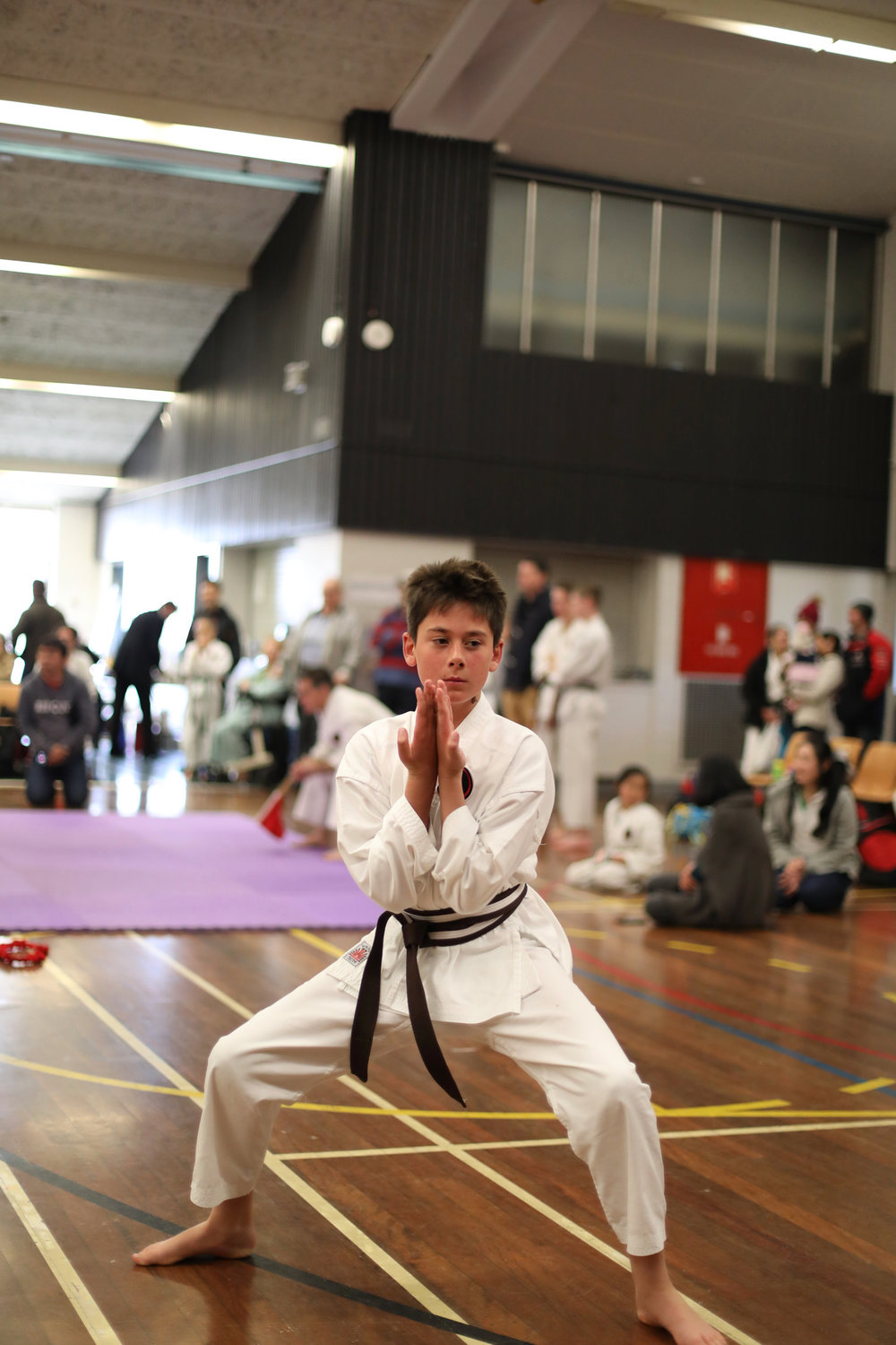 Seiyunchin Kata being performed at the AOGKF annual friendship tournament 2018