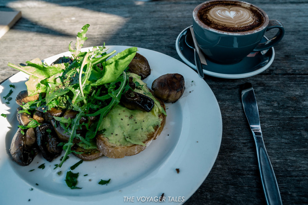 Scrumptious food and delicious coffee aplenty