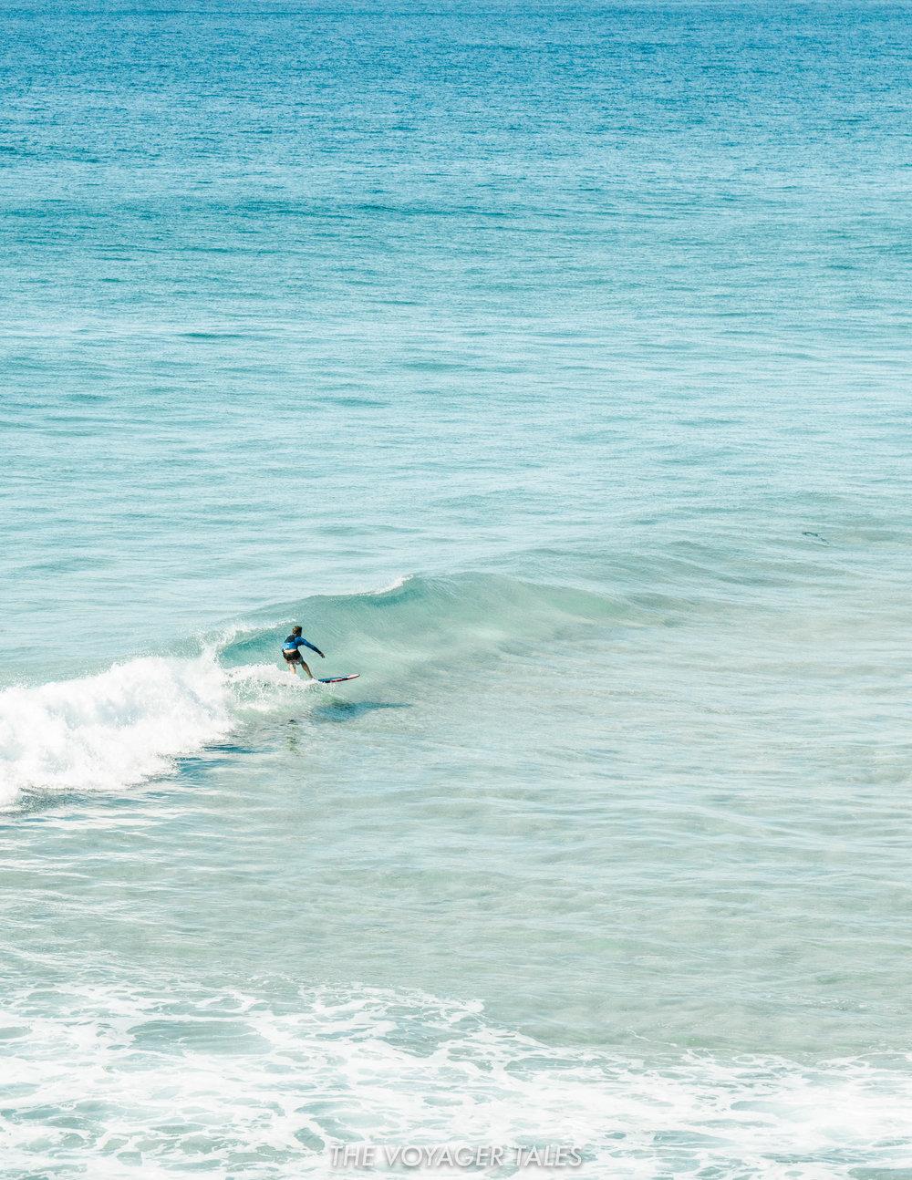 Burrill Lake surf break