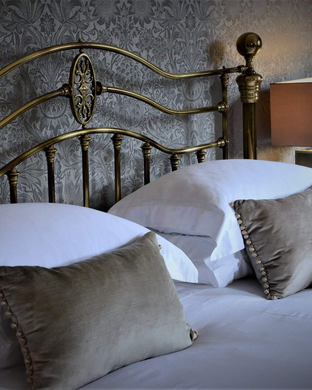 Stay - Each of our stylish six en-suite rooms has been designed to provide luxury and comfort while complementing the unique surroundings of the house and its picturesque setting.