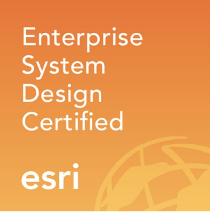 Esri Enterprise System Design Certified Soporta