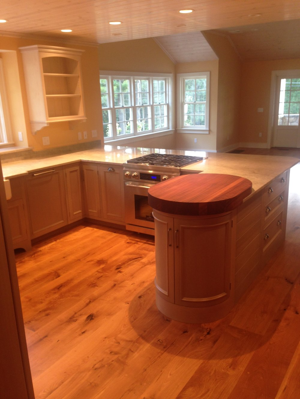 A Cottage Kitchen in Semi-Transparent Sage Lacquer, Quartzite Countertops, and Whitewashed Uppers 4.jpg