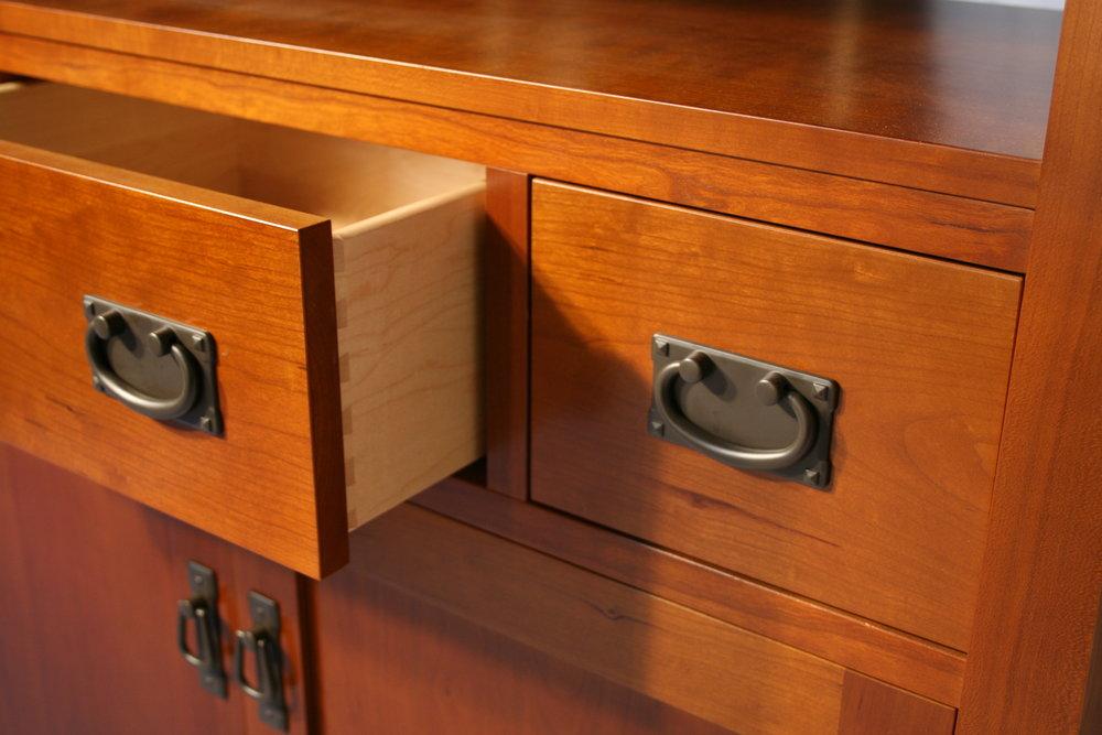 Craftsman Style TV Console 11.jpg