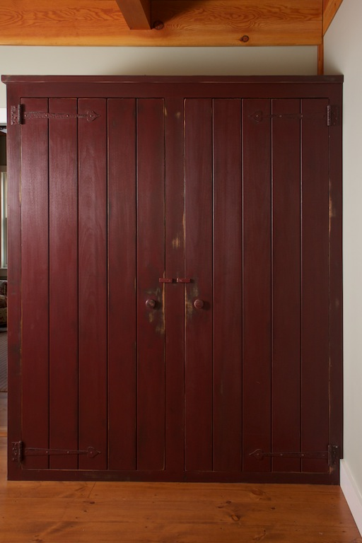 Painted and Weathered Pine Wardrobes with Barn Doors 2.jpg