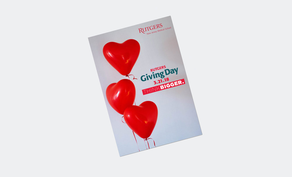 Flyer for Rutgers Giving Day