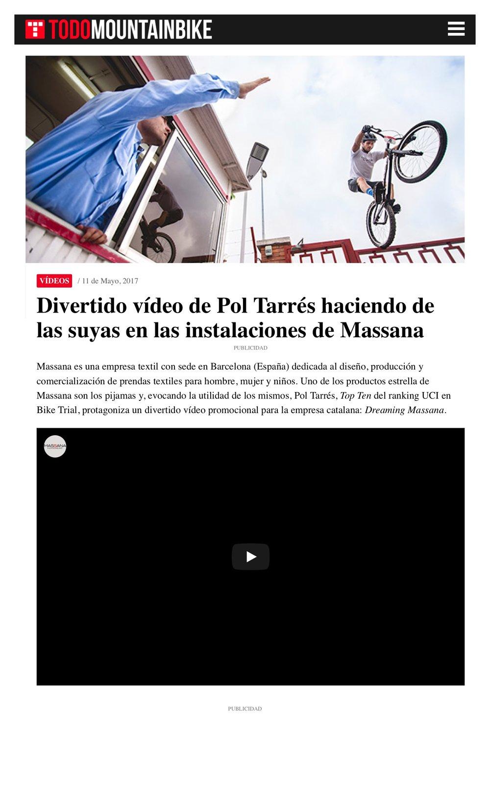 2017-5-11 Divertido vídeo de Pol Tarrés haciendo de las suyas en las instalaciones de Massana 3.jpeg