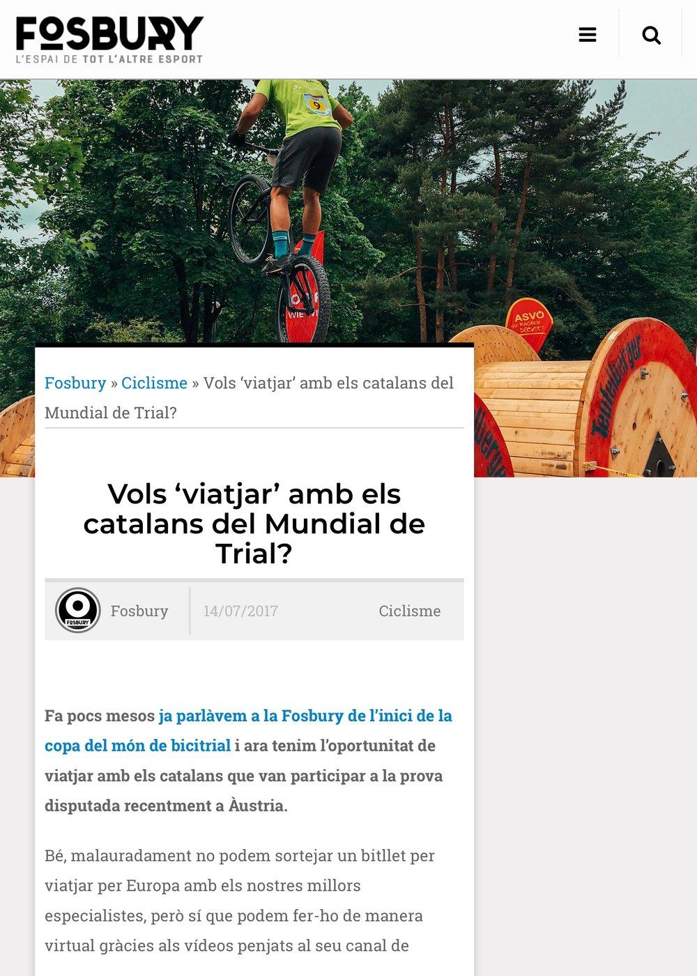 2017-7-14 Vols 'viatjar' amb els catalans del Mundial de Trial? | Fosbury 8.jpeg