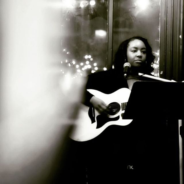 Friday, 03.15.19... I'm back at Art Cafe with the amazing @peter_s96 in Nyack @ 8pm. Two sets unplugged and ohh yeah... I sort of play guitar now (but I'll have my keys handy too). So come check us out. ✌🏾💞🎶 #Guitarist #Singer #Songwriter #Soul #Pop #Funk #Acoustic #Musicians.