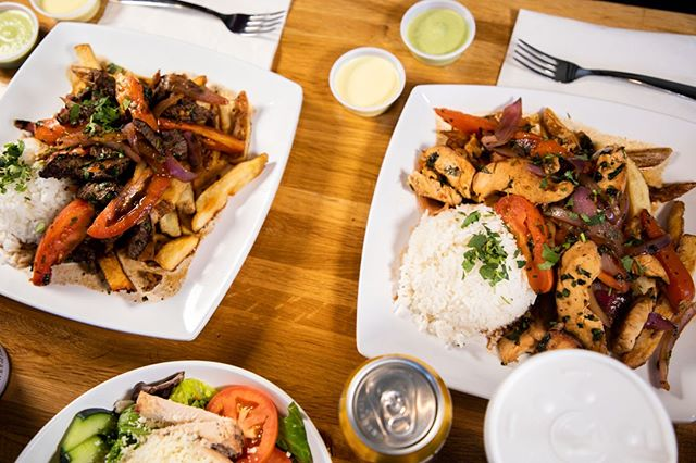 Do you need a pick me up this Monday? Our Pollo Saltado is here to lift your spirits! What could be better than our Pollo Saltado? Getting Pollo Saltado meal including a side and drink for only $8.99. We will see you soon! 🍗🍟🍚 #pollosaltado #alpaca #Peruvian