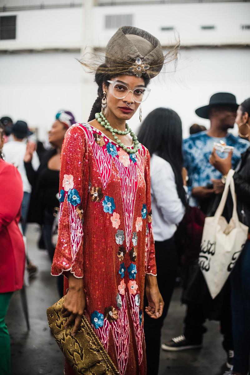 Essence Street Style 2018 at Navy Yards