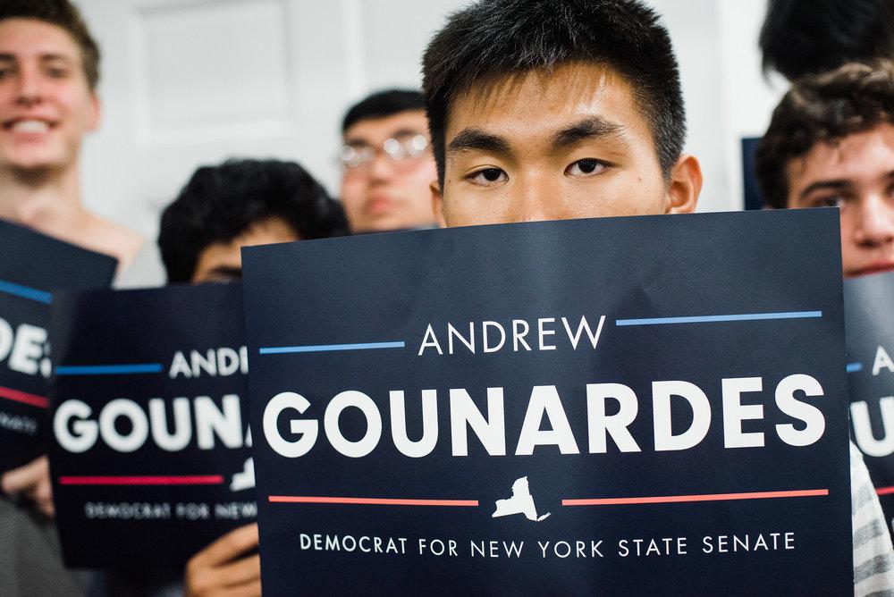 Democratic State Senate Debate on August 28, 2018. Ross Barkan v