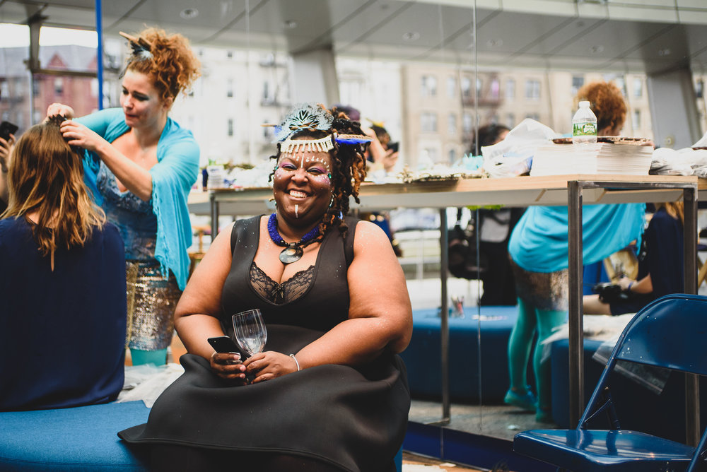 The Brooklyn Artists Ball at Brooklyn Museum 2017.The Brooklyn Artists Ball at Brooklyn Museum 2017. A pop-up of artist Swoon's Pearly's Beauty Shop; Karmima McMillan 9102612776
