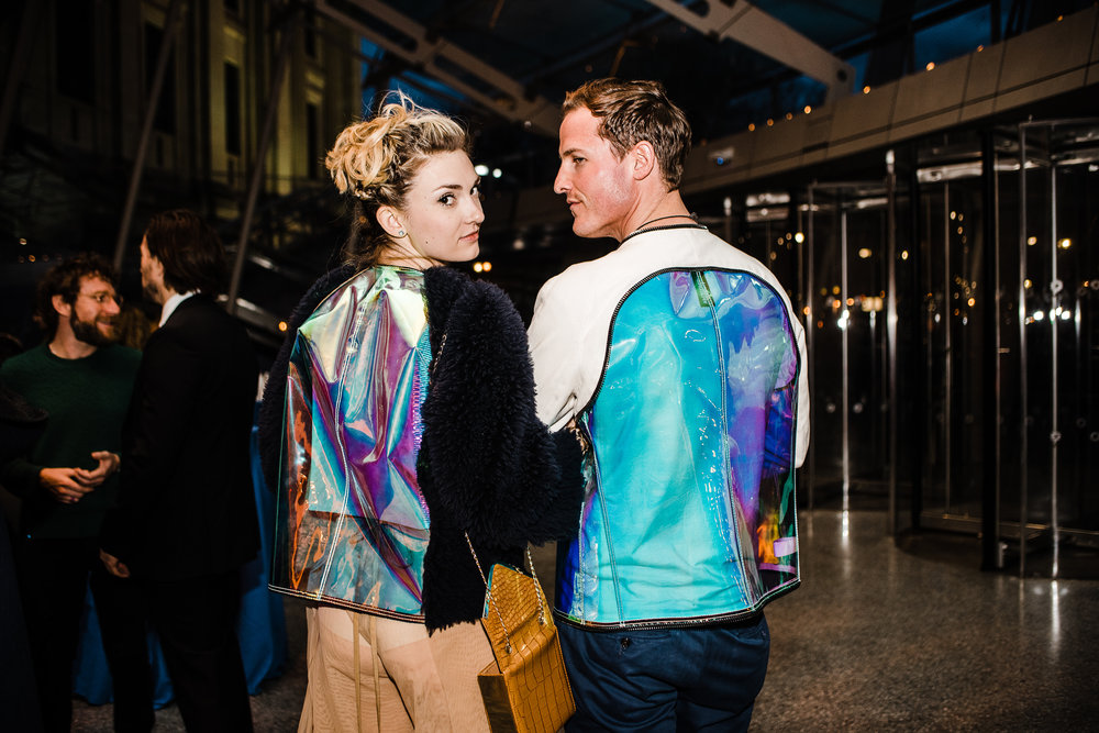 The Brooklyn Artists Ball at Brooklyn Museum 2017.  Catherine Corcoran and Kurt Mcvey