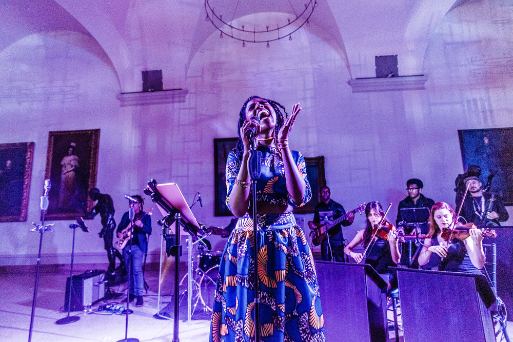 The Brooklyn Artists Ball at Brooklyn Museum 2017.