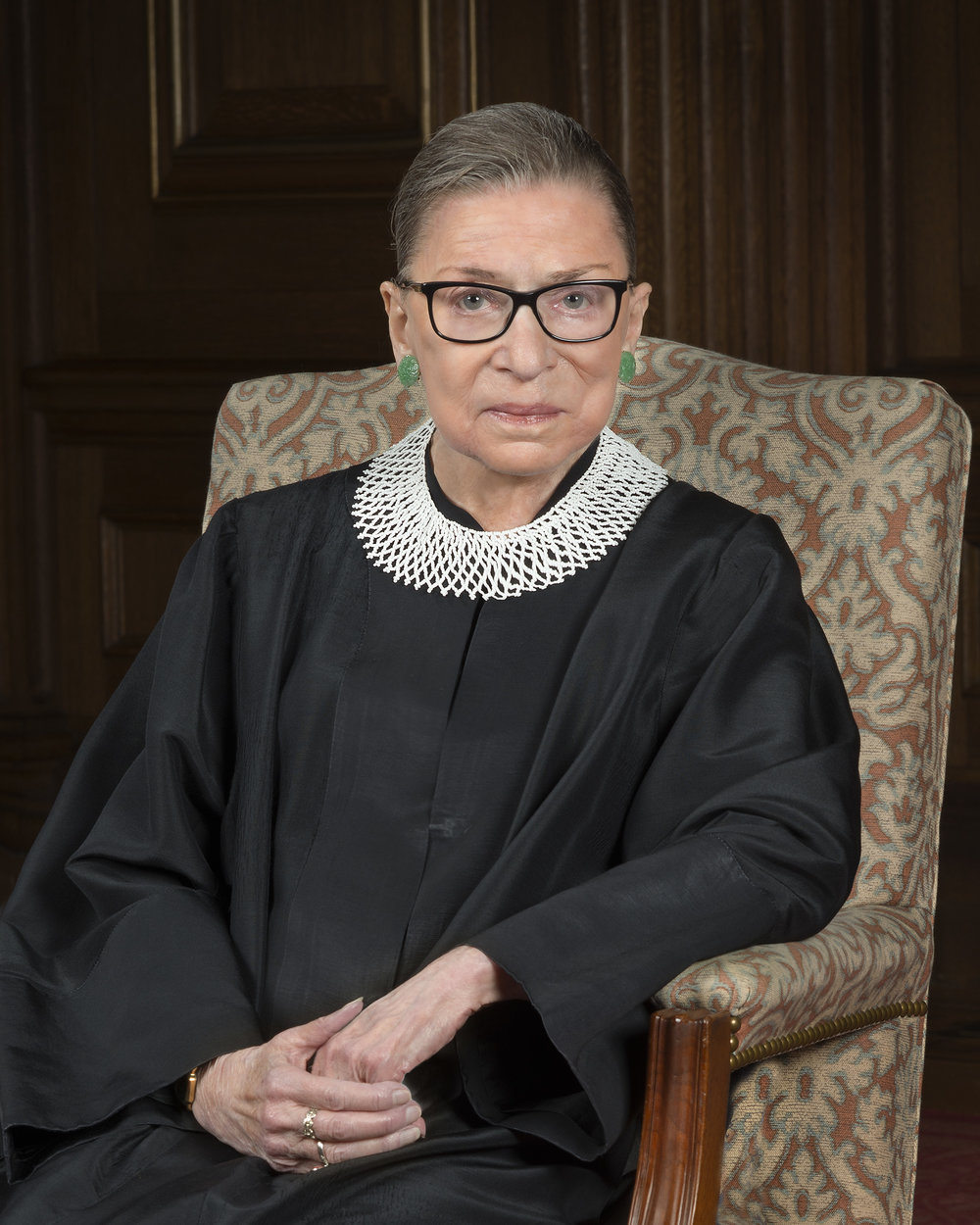 Image of U.S. Supreme Court Justice Ruth Bader Ginsburg, a truly great American, from  https://en.wikipedia.org/wiki/Ruth_Bader_Ginsburg  .