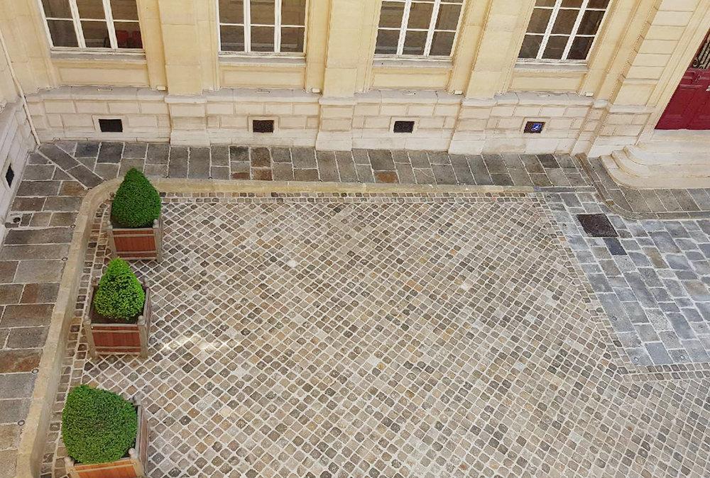 Cours d'honneur de la Mairie de Paris 3e