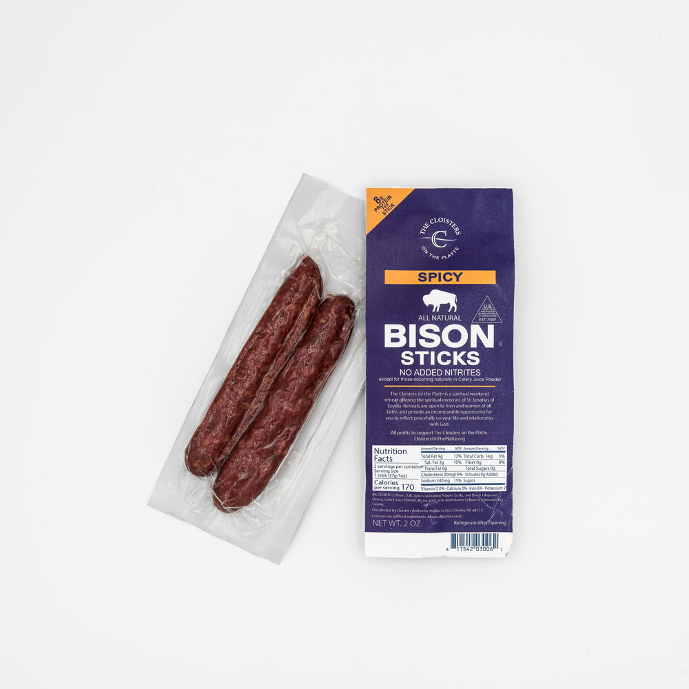 Spicy Bison Sticks