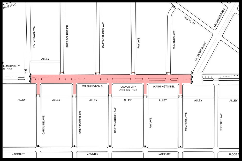 STREET CLOSURE - Events will take place throughout Culver City Arts District, including our first ever designated street closure that stretches along the Arts District, (Washington Blvd will be closed between McManus and Caroline Ave).