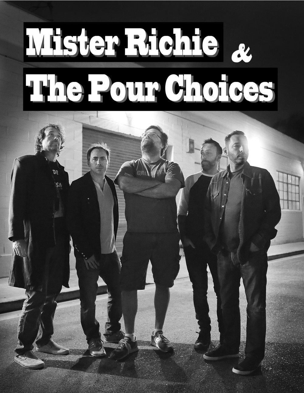 Mister Richie & ThE pOUR CHoices - Rock And Roll