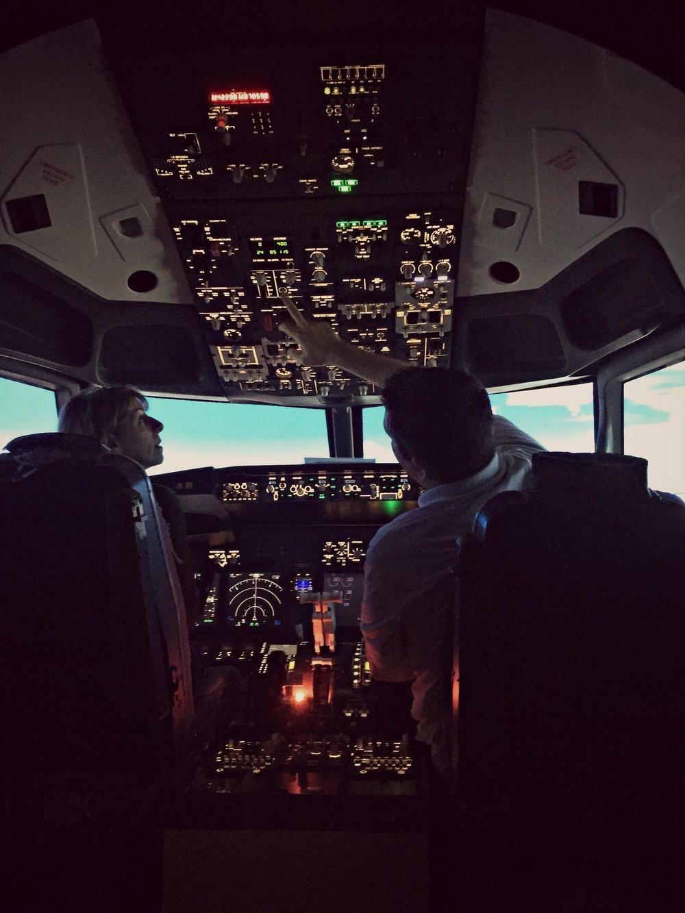 17  Pilot a Plane (simulation) — Sixty to Sixty