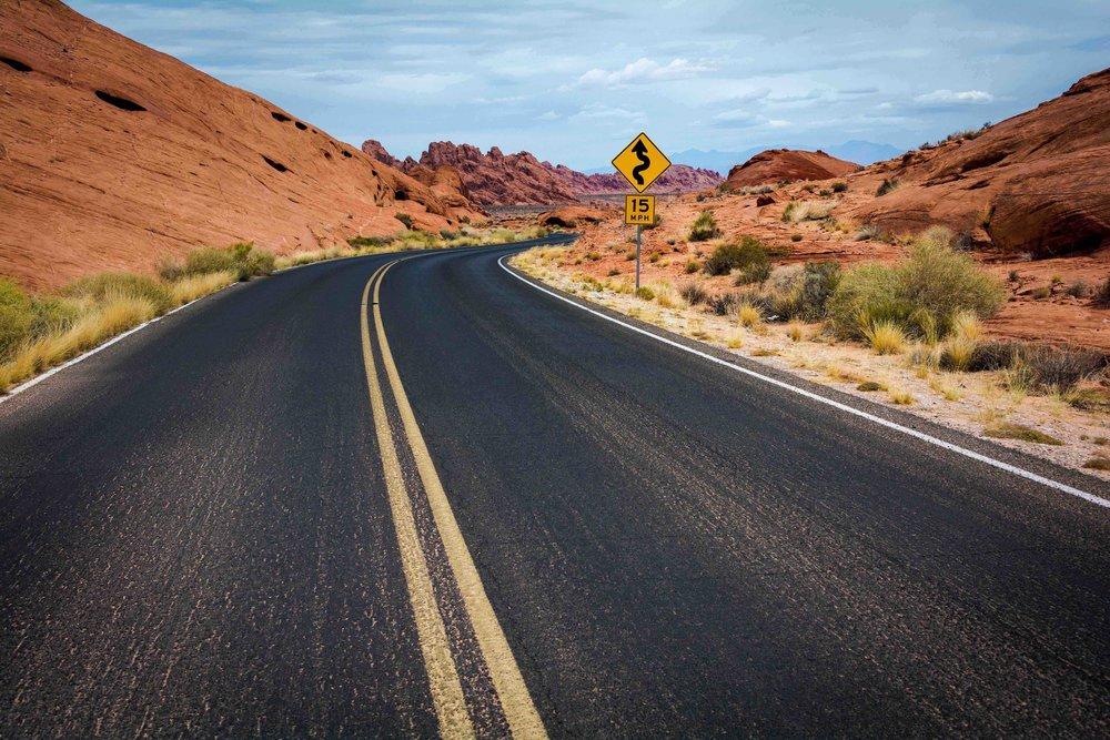 Open Road Desert View