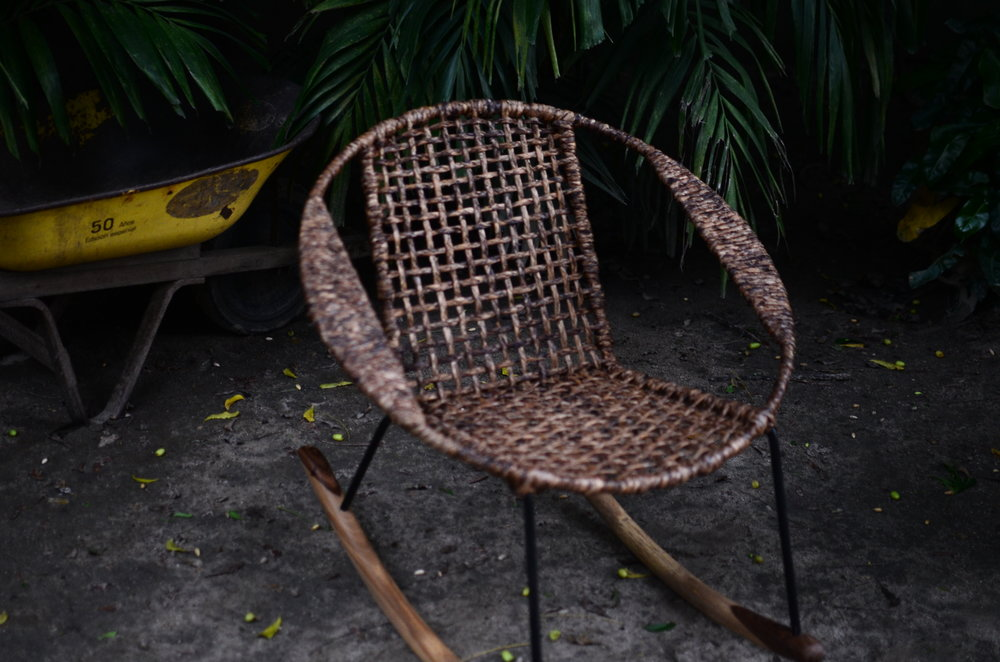 Tucurinca rocking chair, 465 euro.